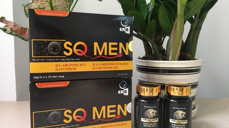 SQ Men – Hỗ trợ điều trị hiệu quả hiếm muộn ở nam giới