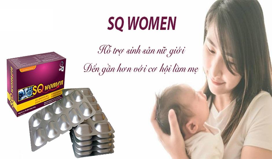 SQ Women – Giải pháp tuyệt vời cho phụ nữ hiếm muộn