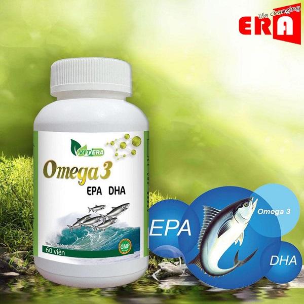 Viên Uống Bổ Sung Omega 3 Vitera 60 viên