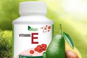 Viên uống bổ sung Vitamin E Vitera 60 viên