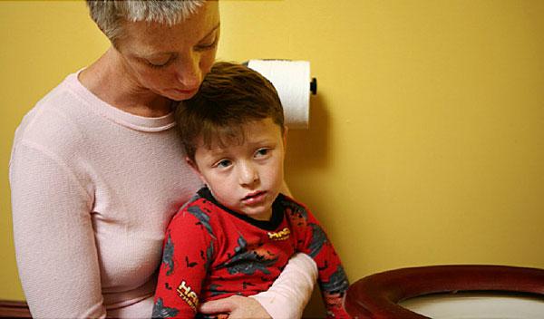trẻ 3 tuổi bị rối loạn tiêu hóa