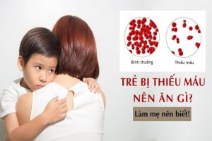 Trẻ thiếu máu nên ăn gì? Những điều mẹ không thể không biết