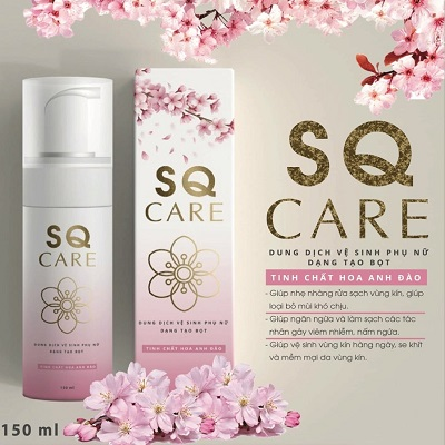 Dung dịch vệ sinh phụ nữ SQ Care